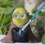 Minion Star Wars Cosplay Action Figure - 4pcs