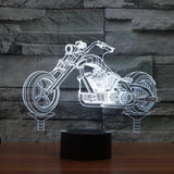 Cruiser 3D Led Light Lamp