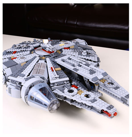 Star Wars Millennium Falcon Building Block Toy - 1381 pcs
