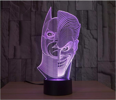 Joker Batman 3D LED Light Lamp