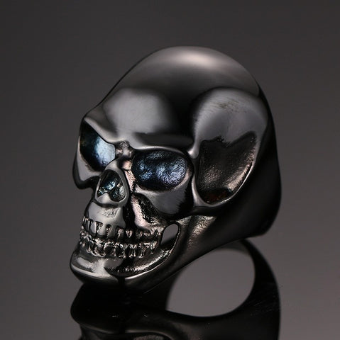 Gothic Skull Men Titanium Steel Ring