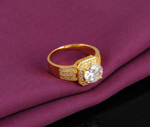 Brand New Gold Ruby Ring