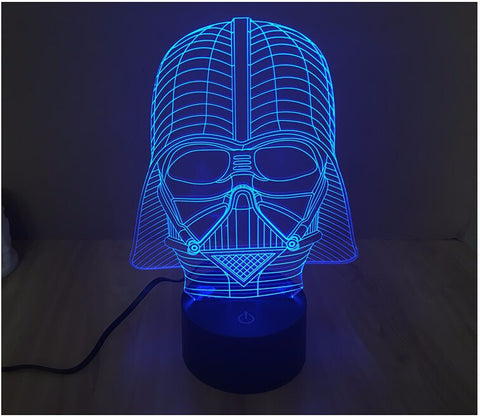 Star Wars Darth Vader 3D LED Light Lamp