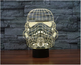 Star Wars Stormtrooper 3D LED Light Lamp
