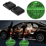 2 STAR WARS DEATH STAR WIRELESS LED CAR DOOR PROJECTORS