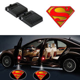 2 SUPERMAN WIRELESS LED CAR DOOR PROJECTORS