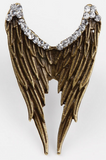 Vintage Angel Wings Pattern Ring