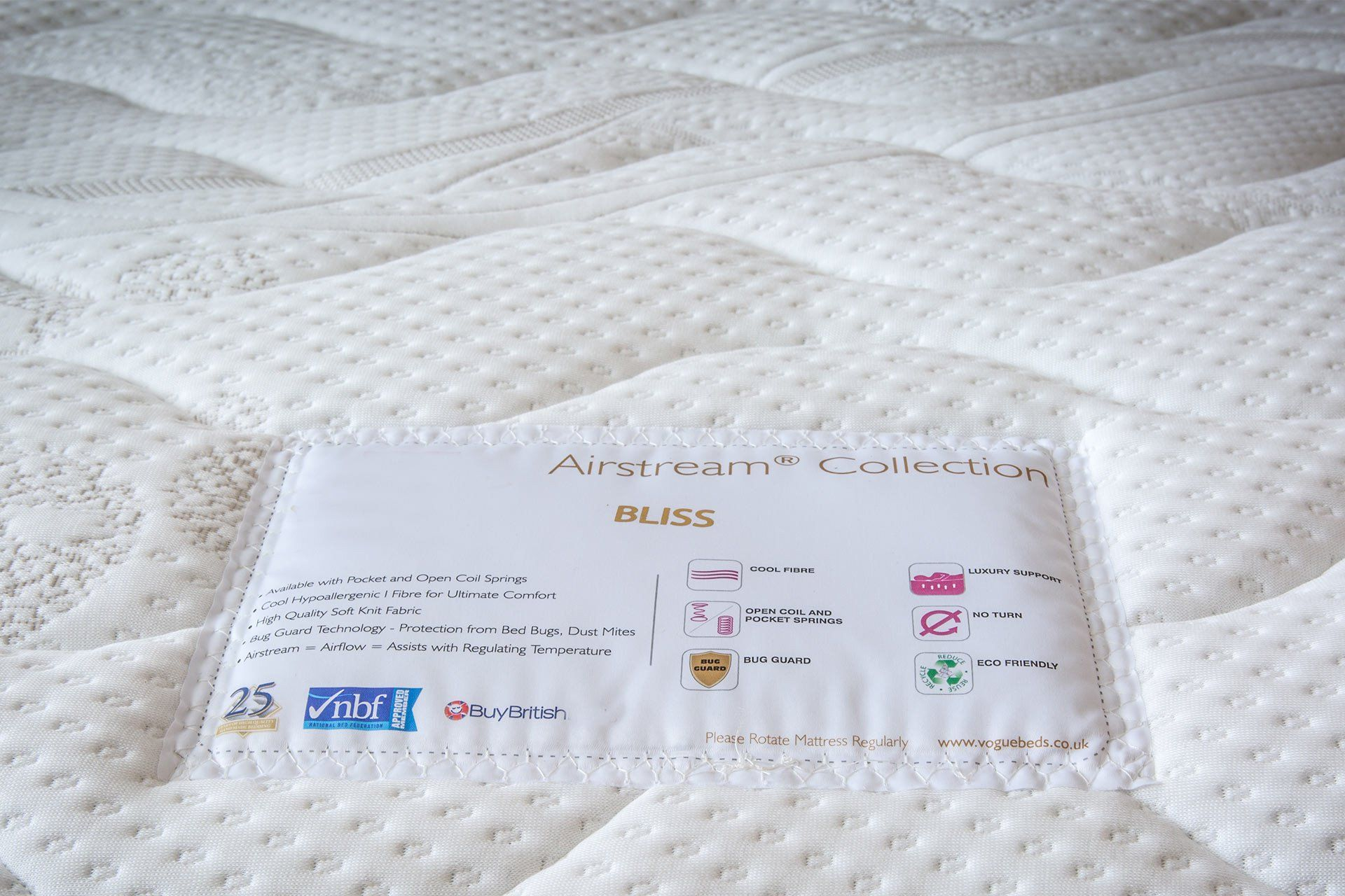 Luxurious Fully Hypoallergenic Mattresses
