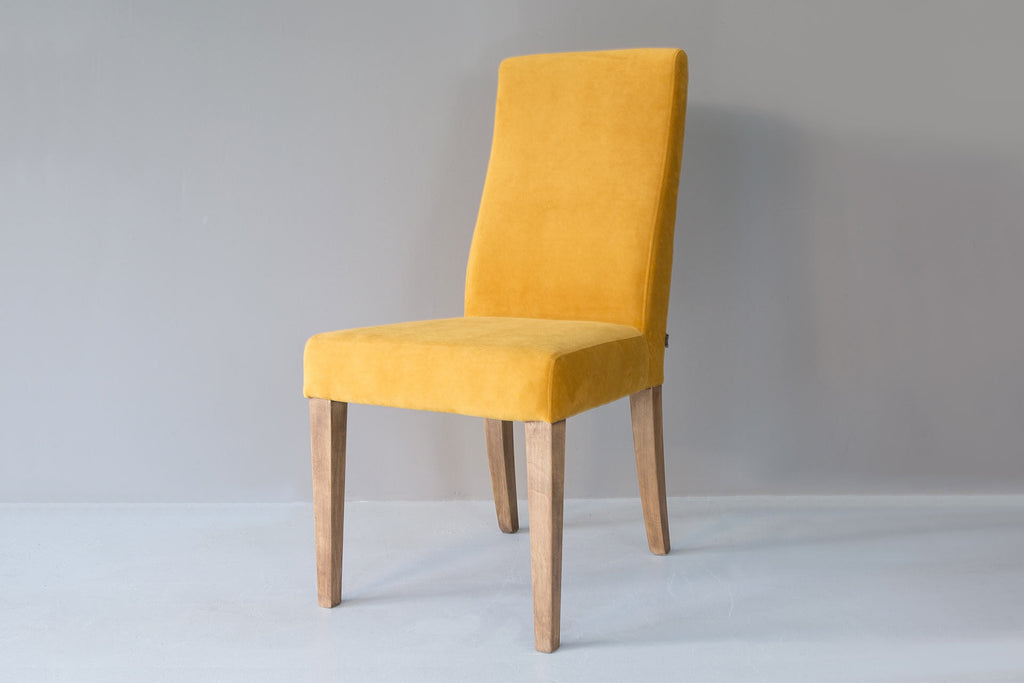 Yellow Annabel Dining Chair