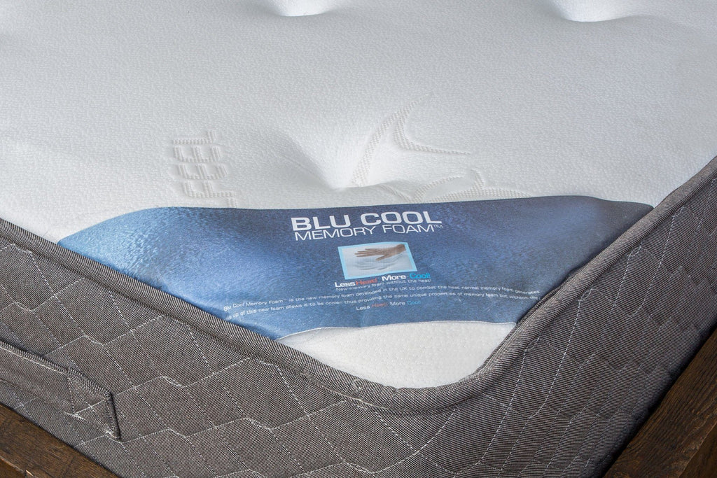 Unique Stay Cool Memory Foam Topper