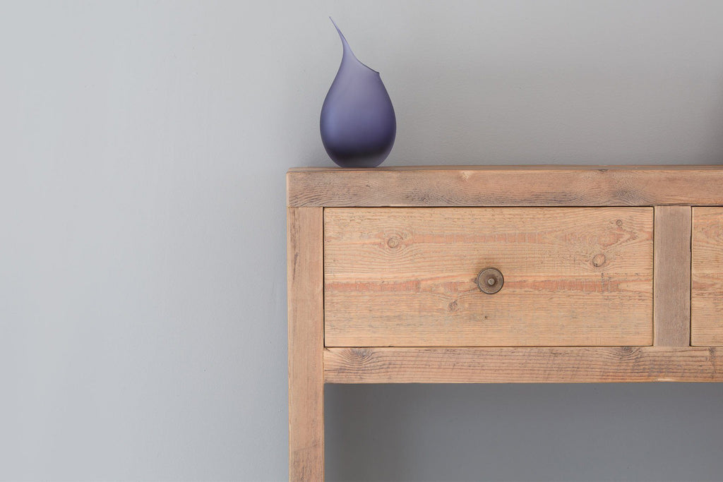 Natural Console Table Close Up Detail
