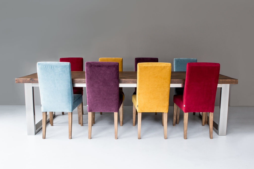 Set of Colourful Annabel Dining Chairs