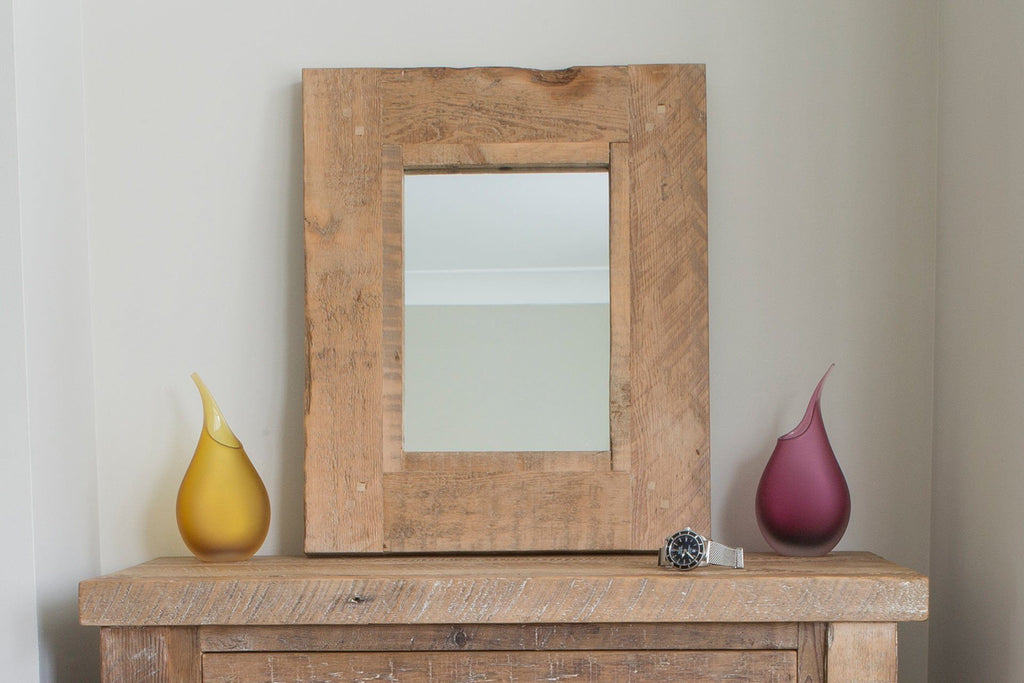 Natural 50cm x 60cm Mirror