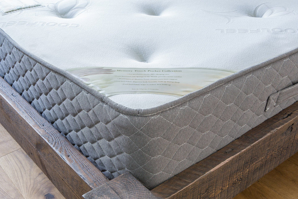 Individual Pocket Collection With Memory Foam Layer