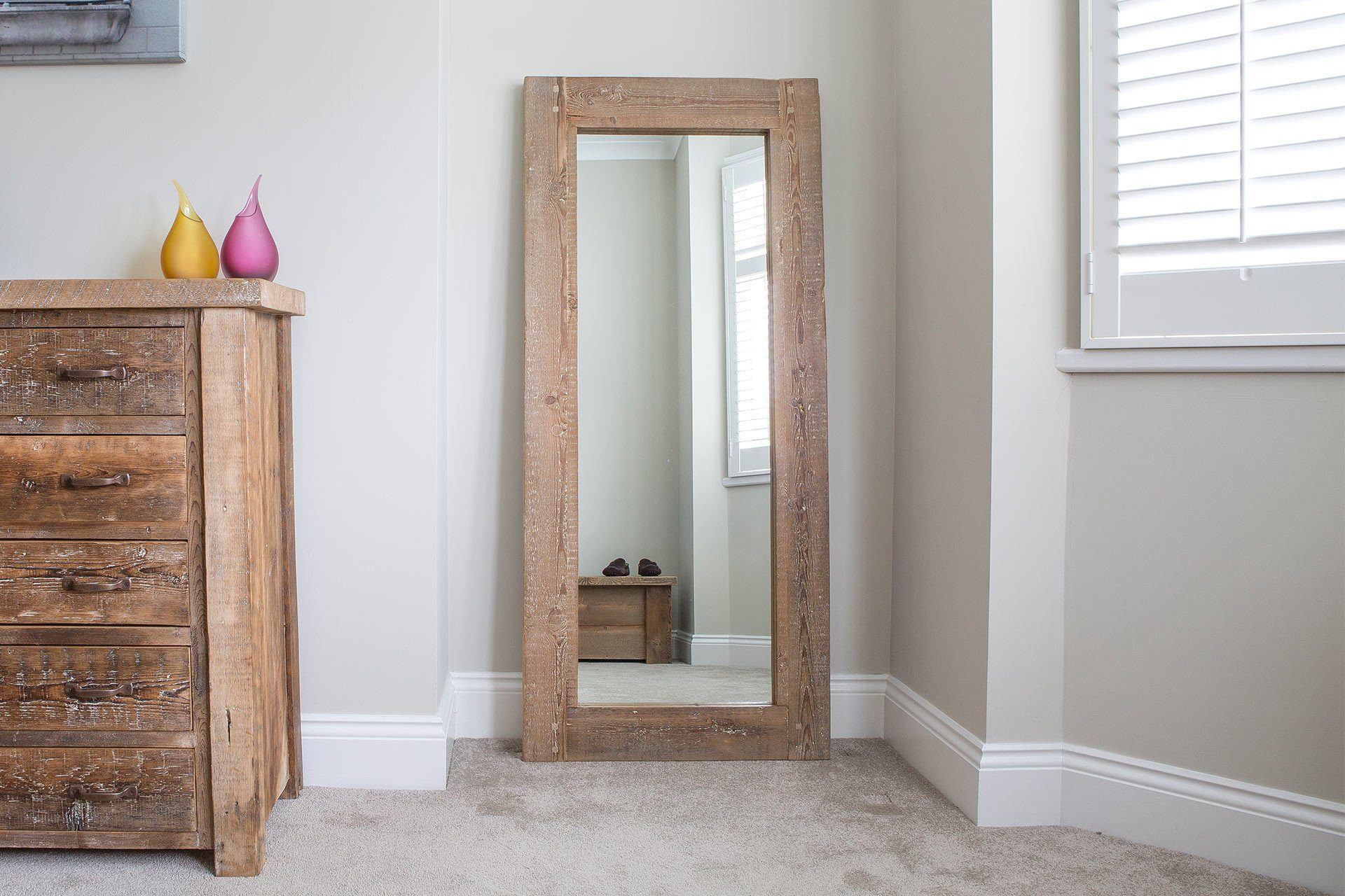 Natural 70cm x 160cm Mirror