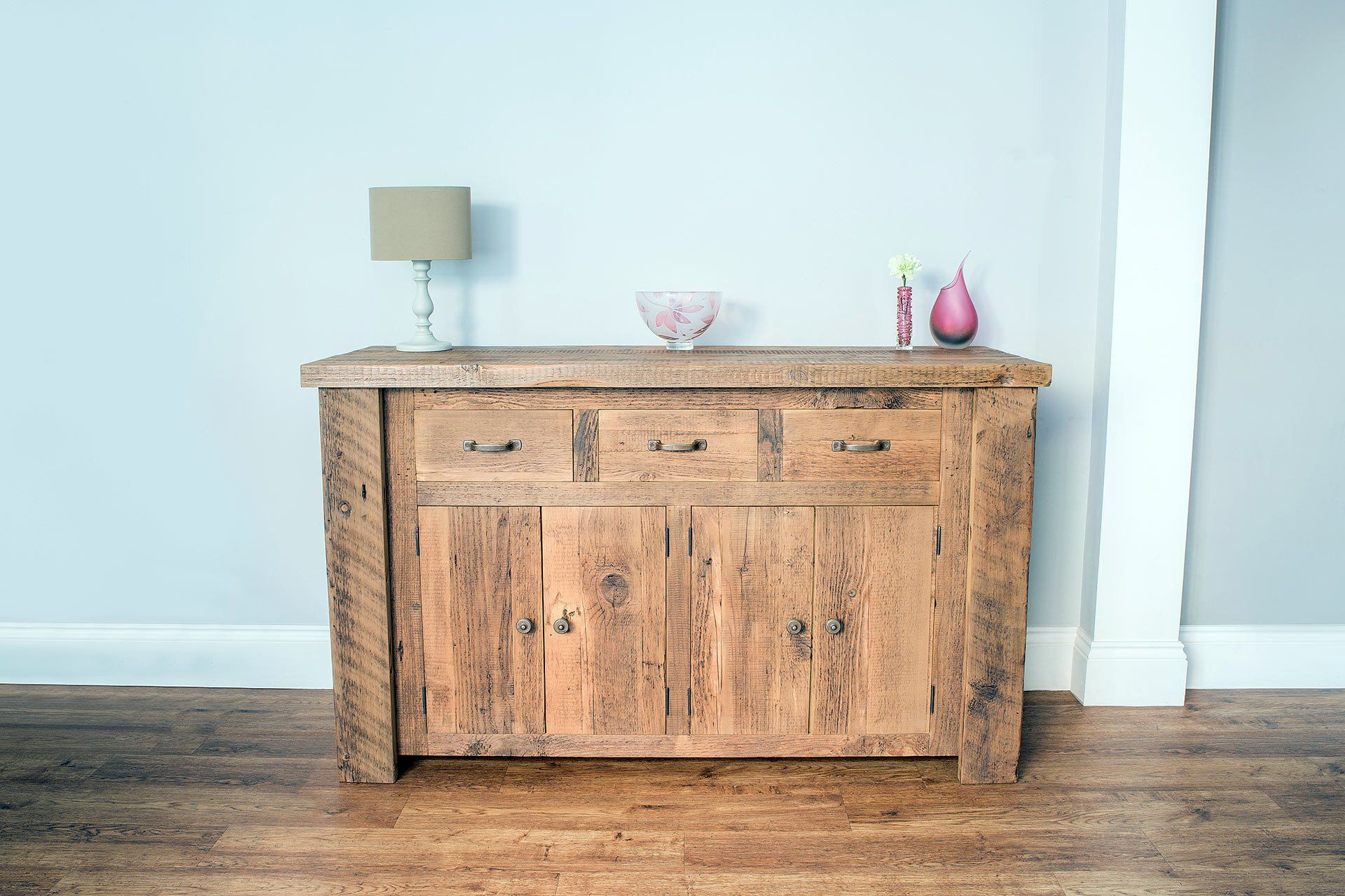 Warm 179.5cm Sideboard With Antique Handles & Knobs