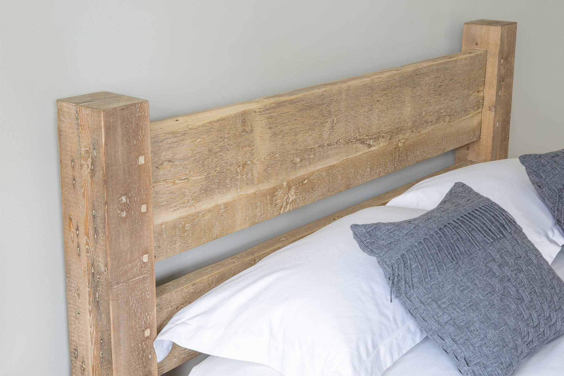 Natural Kingsize Bed Headboard