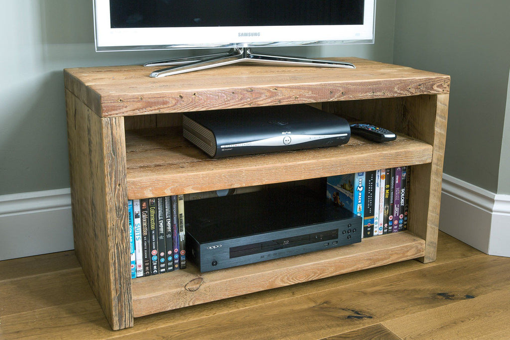 "Natural 81.5cm TV Stand (Displayed With 32"" TV)"
