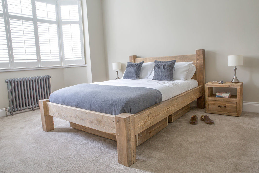 Kingsize Bed With 2 Underbed Storage