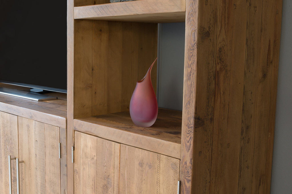 Natural Cabinet And Entertainment Unit Close Up