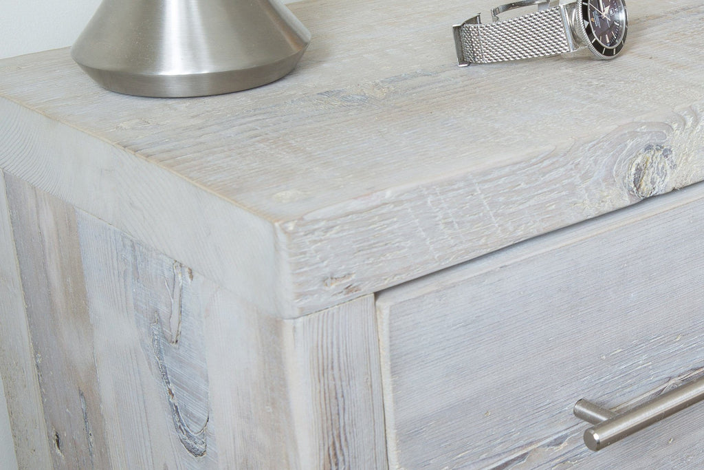 Grey Bedside Table Detail
