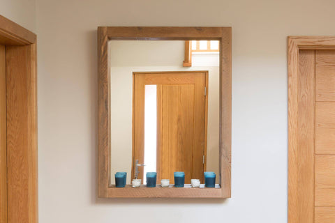Natural 67cm x 87cm Mirror