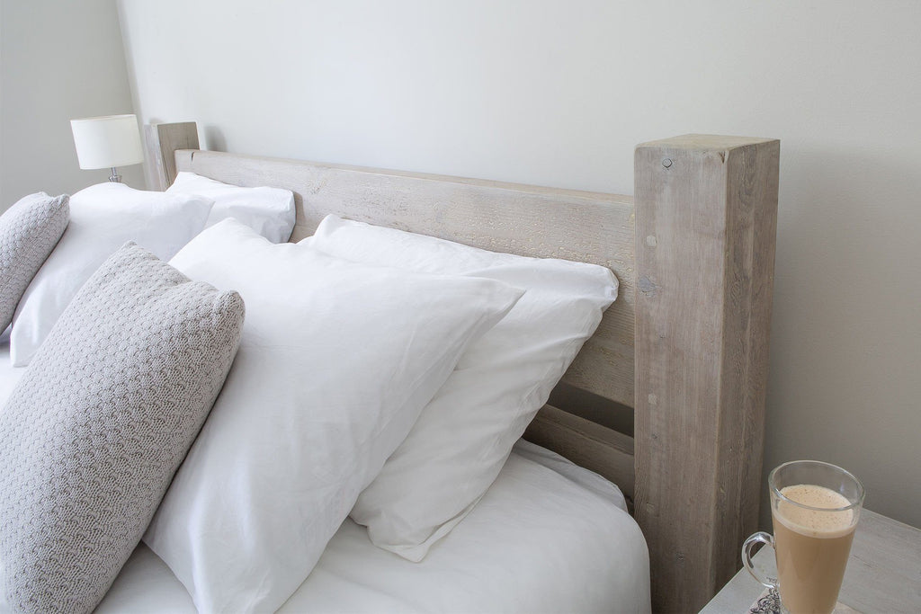Grey Superking Bed Headboard