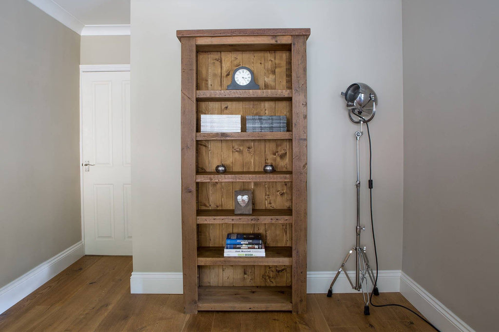 Warm 91.5cm Bookcase With 5 Adjustable Shelves