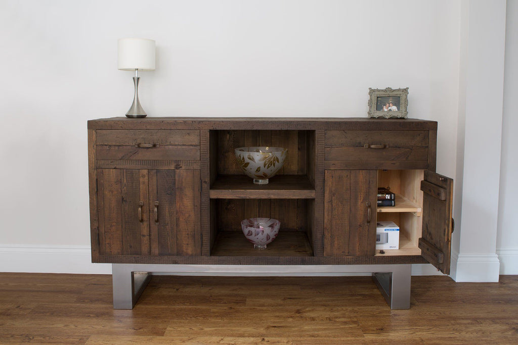 All Sideboard Cupboards Come With An Internal Shelf (Adjustable)