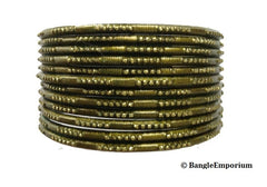 green bangle bracelets 2.8 indian medium bangles