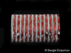 Deja Vu: Red and Silver Bangles (2.8)