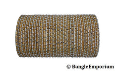 Majesty Gold Silver Bangles (2.4 / 2.6 / 2.8 / 2.10 / 2.12 )