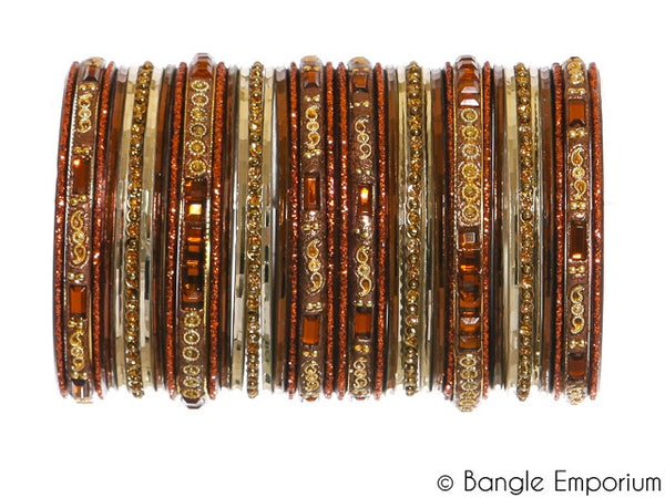 Paisley: Brown Bangles (2.4 / 2.6)