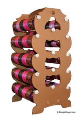 Extra Large: BROWN Bangle Stand Rack