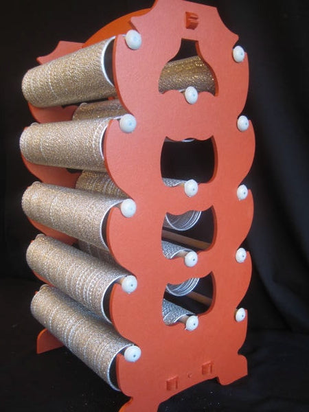 Extra Large: ORANGE Bangle Stand Rack