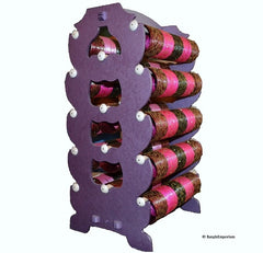 Extra Large: PURPLE Bangle Stand Rack