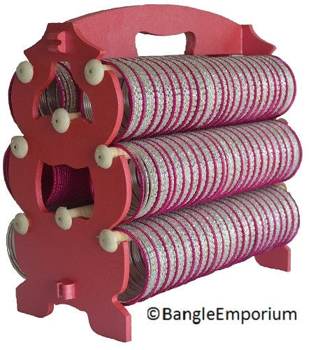 HOT PINK Bangle Rack