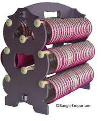 BRIDAL: Metallic PURPLE Bangle Stand Rack
