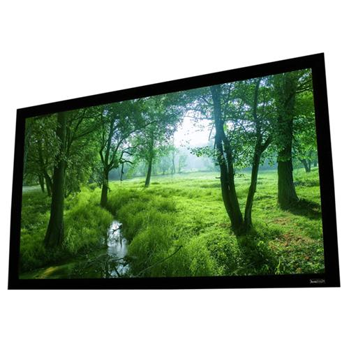 106″ 16:9 Elara II Fixed Frame Projection Screen Perlux-Silver - 13-0222 - Mounts For Less