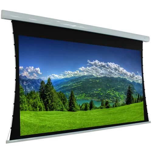 "106"" 16:9 Electric Tab-Tensioned Projection Screen White - 13-0050 - Mounts For Less"