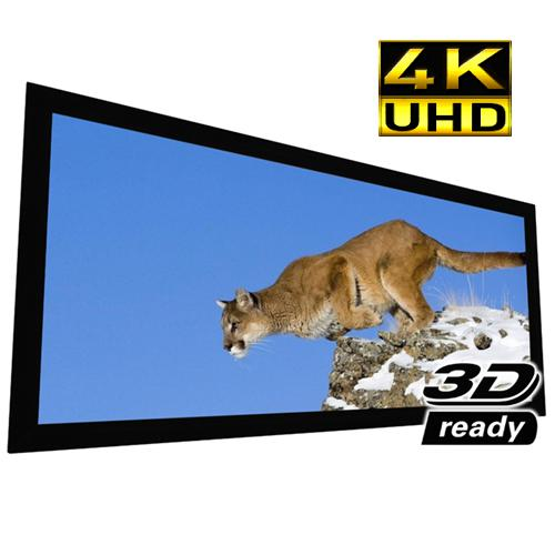"110"" 2.35:1 Reference Studio AudioWeave 4K Fixed Frame Projection Screen - 13-0184 - Mounts For Less"