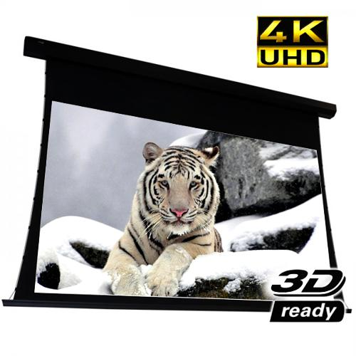 "112"" 16:9 Electric Projection Screen Reference Studio AudioWeave 4K PLUS+ ""Tab-Tensioned"" White - 13-0247 - Mounts For Less"