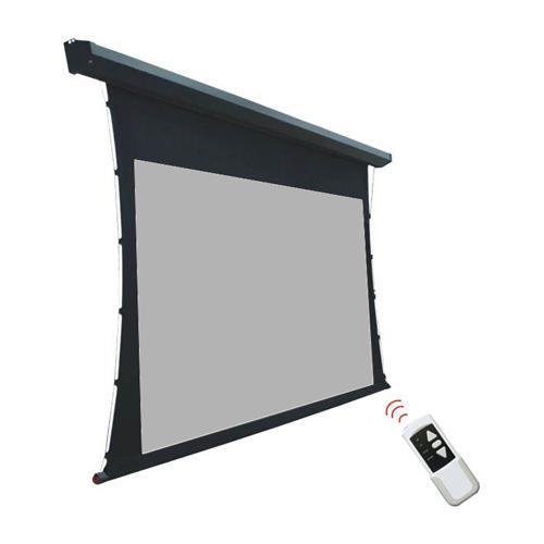 "135"" 16:9 Electric Tab-Tensioned Projection Screen Matte Gray - 13-0061 - Mounts For Less"