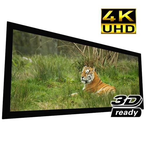 "140"" 2.35:1 Reference Studio 4K Fixed-Frame Screen White - 13-0202 - Mounts For Less"