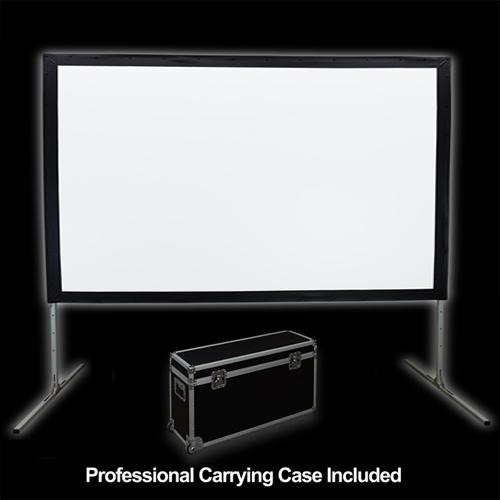 "184"" 16:9 Fast-Fold Front Projection screen with case - 13-0166 - Mounts For Less"