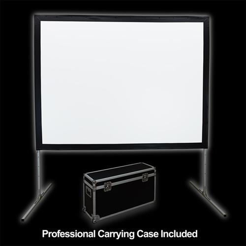 "250"" 4:3 Fast-Fold Front Projection screen with case - 13-0145 - Mounts For Less"