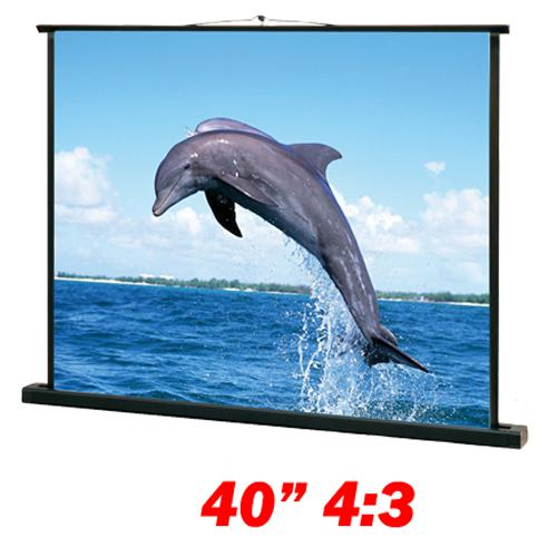 "40"" 4:3 Portable ""TableTop"" Screen white - 13-0079 - Mounts For Less"