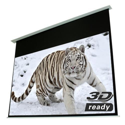 "92"" 16:9 Electric In-Ceiling Projection Screen White - 13-0085 - Mounts For Less"