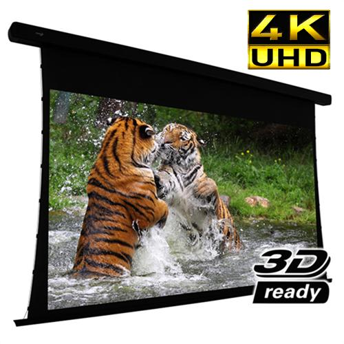 "92"" 16:9 Electric Projection Screen Reference Studio 4K ""Tab-Tensioned"" White - 13-0229 - Mounts For Less"