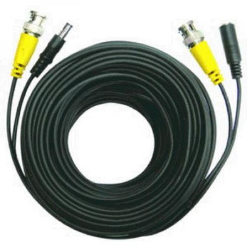 BNC Security Camera Cable with Power 2 in 1 - 75' - 55-0007 - Mounts For Less